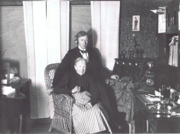 Hörbys första radio 1923